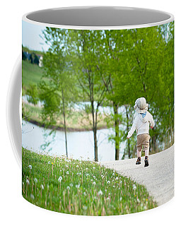 Coffee Mug featuring the photograph Adventure by Sebastian Musial