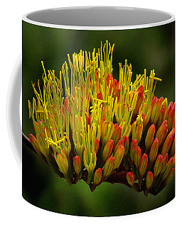 Agave Bloom Coffee Mug by Vicki Pelham