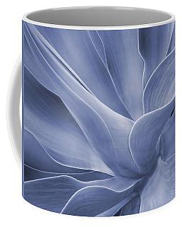 Agave In Blue Coffee Mug