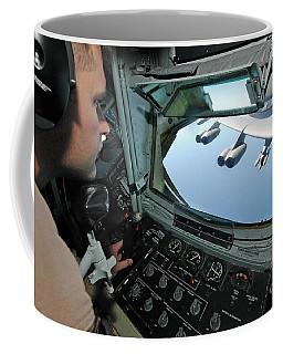 Airman Refuels A B-52 Stratofortress Coffee Mug