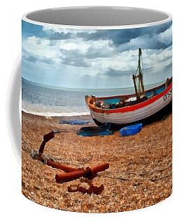Aldeburgh Fishing Boat Coffee Mug