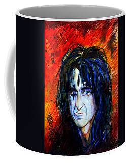 Alice Cooper  Two Faces Coffee Mug