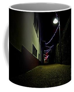 Alley With Lights Coffee Mug