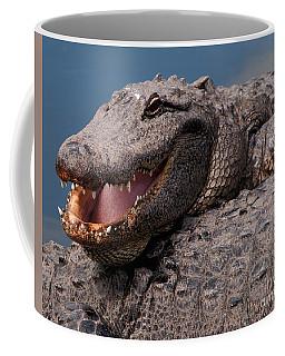 Alligator Smile Coffee Mug