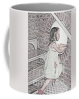 Coffee Mug featuring the photograph Almost To The Top  by Nancy Patterson