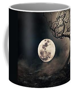 Coffee Mug featuring the photograph Alone by Elizabeth  Doran