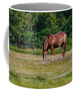 Alone In The Pasture Coffee Mug by Doug Long