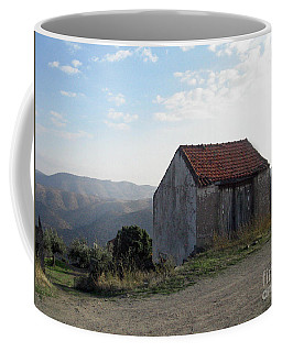 Coffee Mug featuring the photograph Alone On The Hill by Arlene Carmel