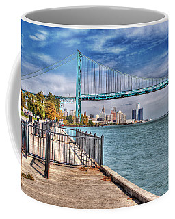 Ambassador Bridge Detroit Mi Coffee Mug