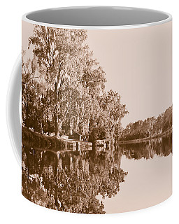 Amber Reflection Coffee Mug by Sara Frank