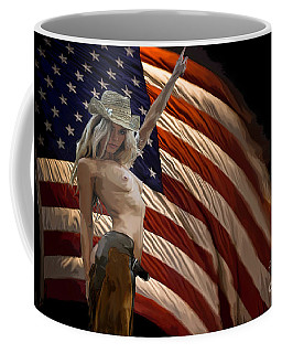 American Cowgirl Coffee Mug