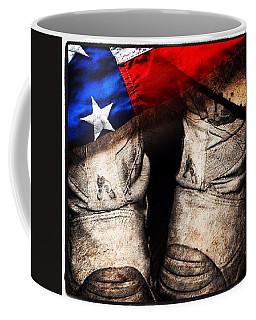 Coffee Mug featuring the photograph American by Elizabeth  Doran