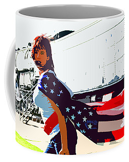 American Girl Coffee Mug