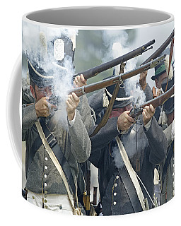 American Infantry Firing Coffee Mug