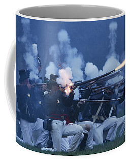 American Night Battle Coffee Mug