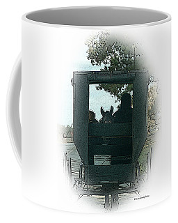 Amish Buggy Ride Coffee Mug by TnBackroadsPhotos