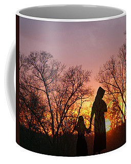Amish Sisters Coffee Mug by TnBackroadsPhotos