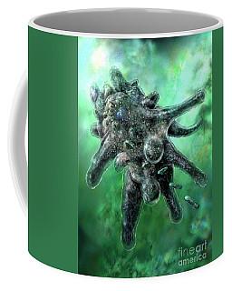 Amoeba Green Coffee Mug
