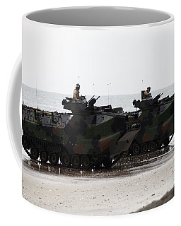Amphibious Assault Vehicles Land Ashore Coffee Mug