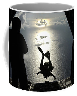 An Air Force Pararescueman Jumps Coffee Mug