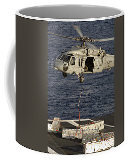 An Mh-60s Seahawk Delivers Ammunition Coffee Mug