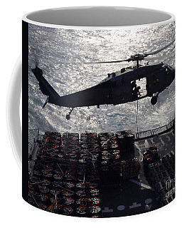 An Mh-60s Seahawk Helicopter Conducts Coffee Mug