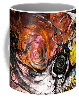 Anewed Antypityped Five Fish Coffee Mug