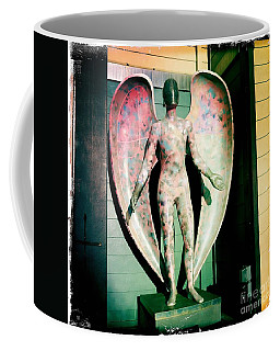 Coffee Mug featuring the photograph Angel In The City Of Angels by Nina Prommer