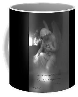Angel Kneeling In Prayer - Inspirational Angel Art Coffee Mug