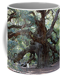 Angel Oak - Dont Climb Or Carve On The Tree Coffee Mug