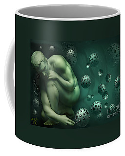 Animus Breathing Viriditas Coffee Mug by Rosa Cobos