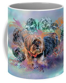 Coffee Mug featuring the digital art Another Birthday 112 Years by Kathy Tarochione