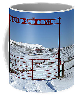 Another Snow On Crawford Ranch Coffee Mug