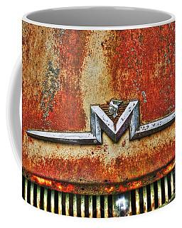 Antique Mercury Auto Logo Coffee Mug by Dan Stone
