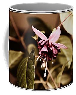 Antiqued Fuchsia Coffee Mug by Jeanette C Landstrom