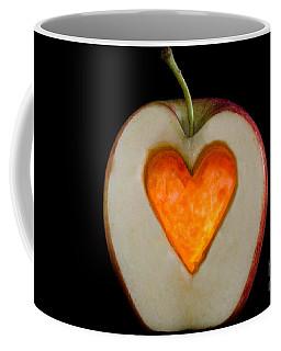 Apple With A Heart Coffee Mug