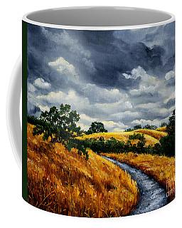 Arastradero Trail In Early Autumn Coffee Mug