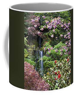 Arching Cherry Blossoms Coffee Mug