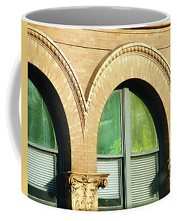 Coffee Mug featuring the photograph Architecture Memphis by Lizi Beard-Ward