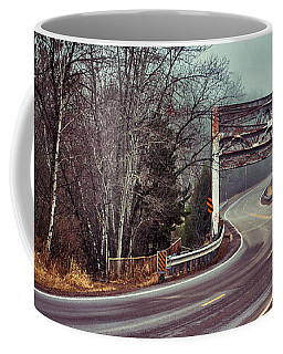 Around The Bend And Across Coffee Mug