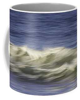 Coffee Mug featuring the photograph Artistic Wave by Betty Denise