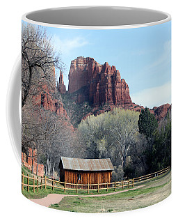 Coffee Mug featuring the photograph At The Base by Debbie Hart