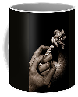 At The End Of My Rope Coffee Mug