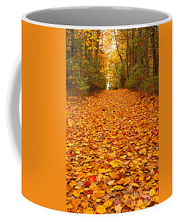 At The End Of The Road Coffee Mug