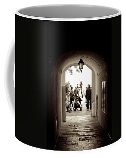 At The End Of The Tunnel Coffee Mug