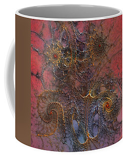 Coffee Mug featuring the digital art At The Moment by Casey Kotas
