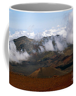 At The Rim Of The Crater Coffee Mug by Patricia Griffin Brett