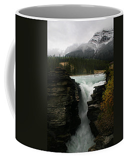 Athabasca Falls Jasper National Park Coffee Mug