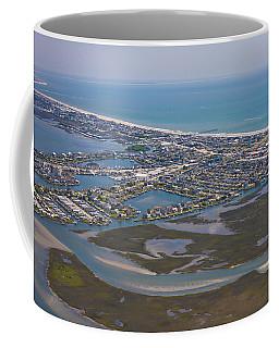Atlantic Beach Beaufort Aerial Coffee Mug