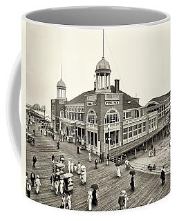 Atlantic City Steel Pier 1910 Coffee Mug